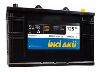 Batería Inci Akü 125ah 800a Heavy Duty *