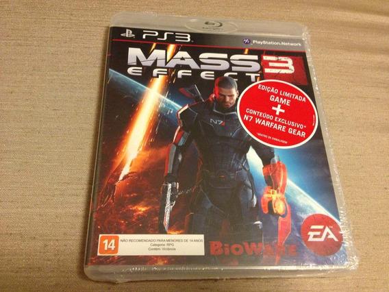 Mass Effect 3 Lacrado Edicao Limitada