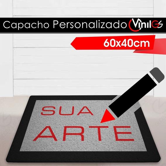 Tapete Capacho Personalizado Vinil-gs 60x40cm