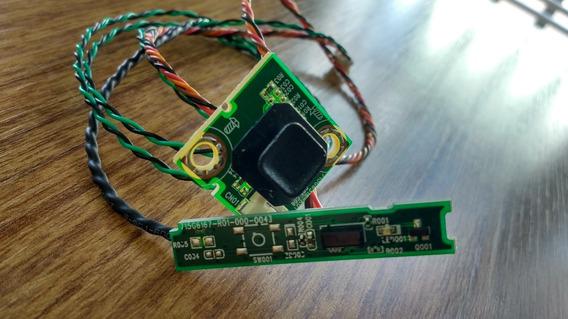Sensor Remoto Botão Ligar Tv Philips 40pfg5000 78