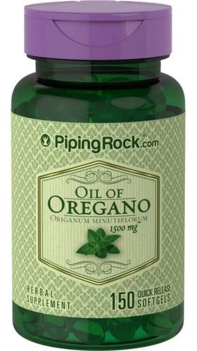 Aceite De Orégano 1500mg Sist Inmunológico Carvacrol 150 Cap
