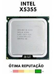 Processador Xeon X5355 Lga771 Temos X5450 Q6600 E5440