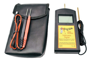 Voltímetro Y Medidor De Batería Peón Premium 2 En 1