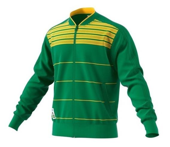 Jaqueta adidas Brasil Verde E Amarelo
