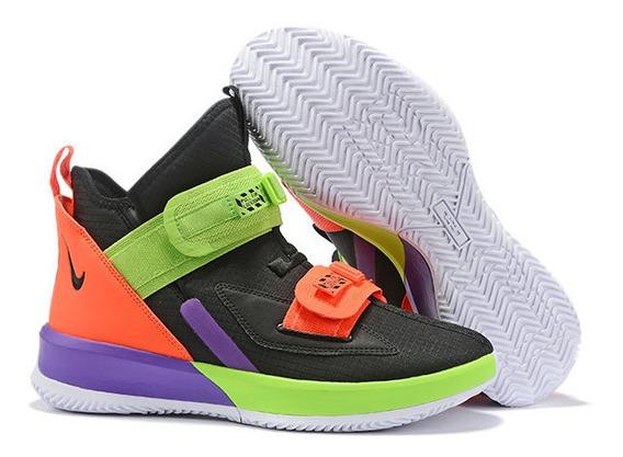 Tênis Nike Lebron Soldier 13 Multicolor Original