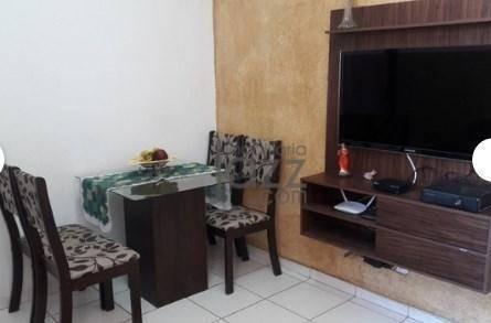 Apartamento Com 2 Dormitórios À Venda, 43 M² Por R$ 179.200,00 - Jardim Santa Maria (nova Veneza) - Sumaré/sp - Ap5019