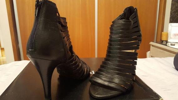 Zapatos Nine West Negros. Nro 39 1/2 Todo El Estilo