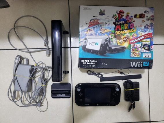 Nintendo Wii U Preto 32 Gb Desbloqueado Haxchi Pro Hd 500