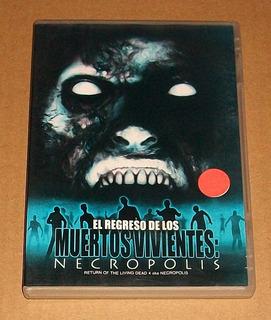 El Regreso De Los Muertos Vivientes Necropolis Dvd Zombies