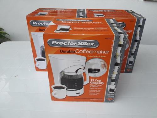 Imagen 1 de 4 de Cafetera Proctor Silex. 12 Tazas