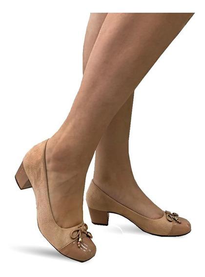 Sapato Social Lilha Shoes Feminino Super Confortavel 1682