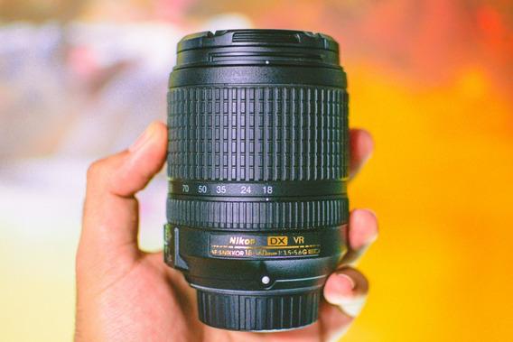 Lente Nikon Af-s 18-140mm F/3.5-5.6g Ed Vr