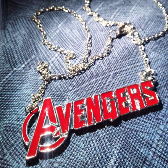 Colar Avengers Os Vingadores Thor Capitão America