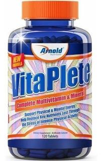 Vitaplete Arnold Multivitamínico E Mineral Importado 120 T