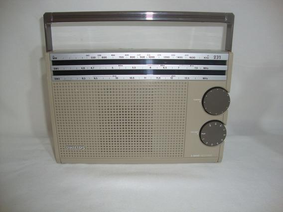 Antigo Radio Philips 231 Anos 70 **excelente Estado***
