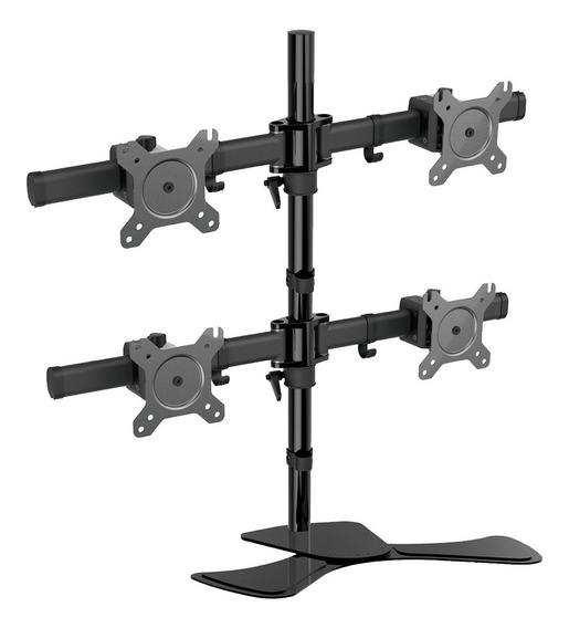 Suporte Para 4 Monitores Articulados 13 A 27 Sm-sm400 Sumay