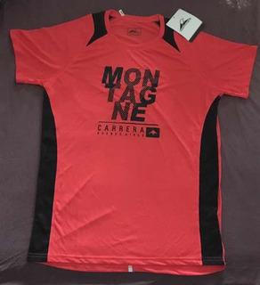 Remera Montagne Running Maratón Hombre Xl Envío Gratis