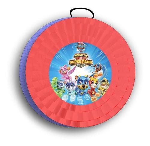 Imagen 1 de 4 de Piñata Paw Patrol Mighty Piñatas