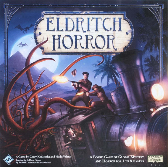 Eldritch Horror Jogo De Tabuleiro Galapagos Jogos Ehr001