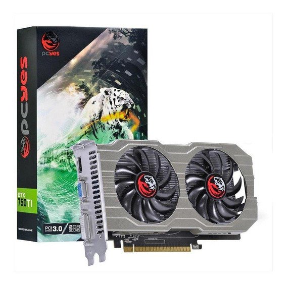 Placa de vídeo PcYes GeForce 700 Series PPV750TI12802D5 2GB
