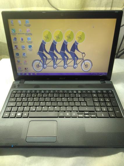 Notebook Acer Corei3 6gigas Hd500corel/cad/eurtruk/cs Barato