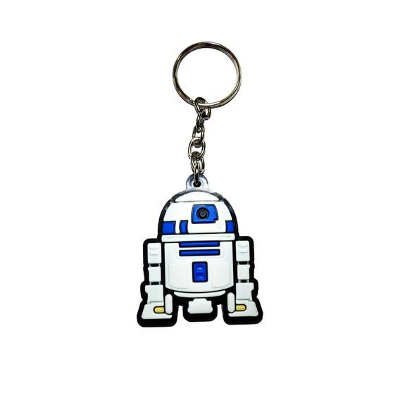 Chaveiro R2d2 Star Wars Emborrachado