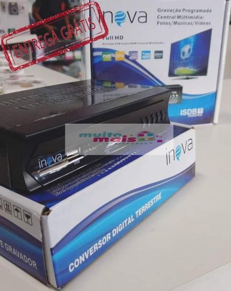 Conversor Digital Inova Com Saida Hdmi E Rca Tv Tubo Antiga