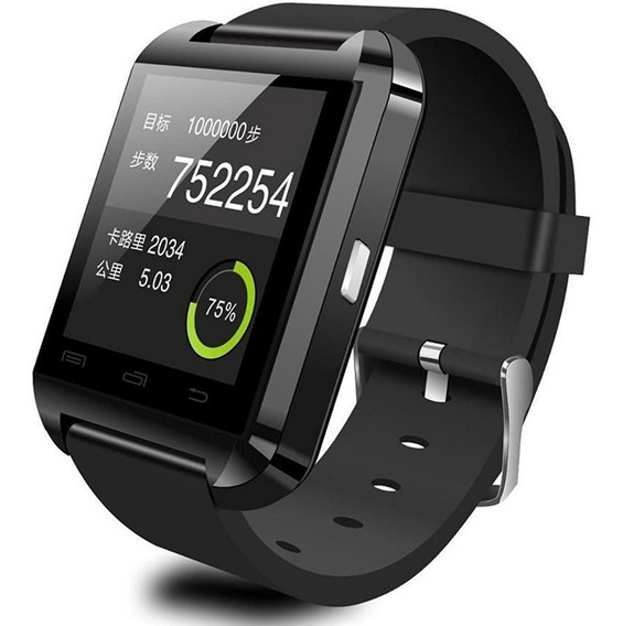 Smartwatch U8 Bluetooth iPhone Android Reloj Inteligente