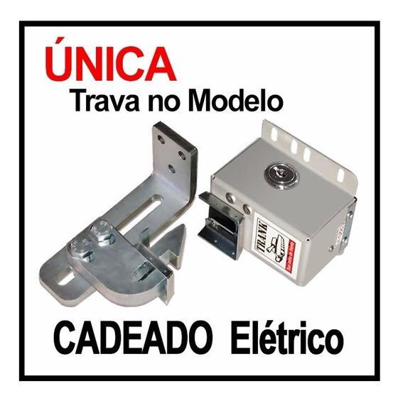 Trava Elétrica Cadeado Para Portão Automático Basculante B10