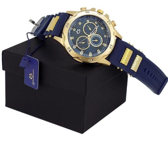Relógio Masculino Moda Orizom Lindo, Promoção + Caixa