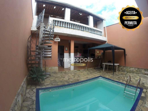 Casa À Venda, 102 M² Por R$ 1.230.000,00 - Cerâmica - São Caetano Do Sul/sp - Ca0148