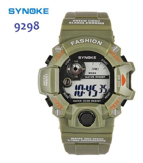 Relógio Militar Esportivo- Synoke - A Prova D Água