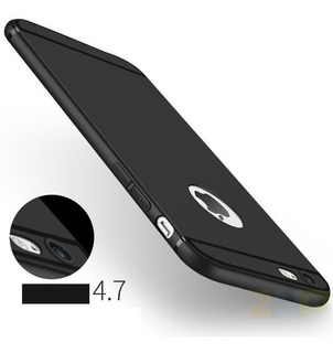 Capinha Ultra Fina Fosca iPhone 6 6s Plus 7 Plus 8 Luxo Capa