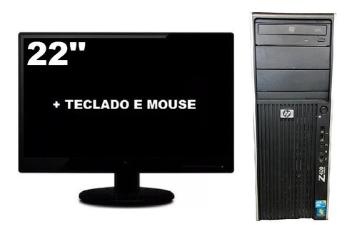 Workstation Hp Z400 Intel Xeon W3520 8gb Ssd 240gb