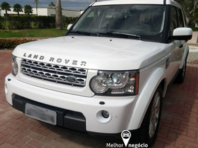 Land Rover Discovery 4 Se 3.0 4x4 Diesel Aut. 2012 Branca