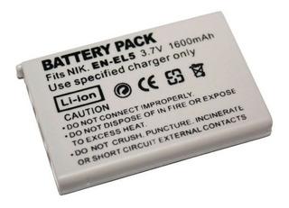 Batería En-el5 De Reemplazo Para Coolpix P3 P4 P100 P500 S1