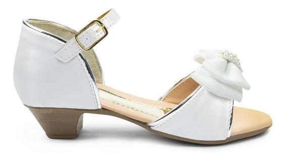 Sandalia Salto Infantil Menina Feminino Calçados Festa Moda