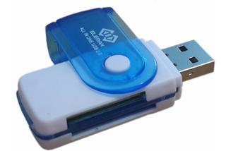 Multi Lector De Memorias Usb 2.0 Para Micro Sd Tf Sd Pro Duo