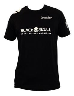 Camiseta Camisa Caveira Preta - Original - Black Skull