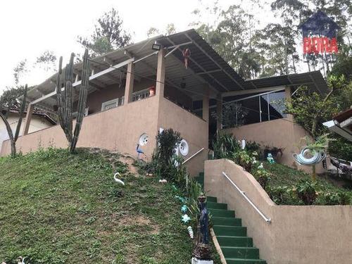 Chácara Com 2 Dormitórios À Venda, 1850 M² Por R$ 340.000,00 - Estância Santa Maria Do Portão - Atibaia/sp - Ch0362