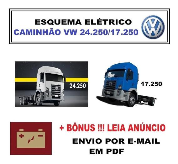 Esquema Elétrico Vw Costellation 24-250 17-250 + Bônus Pdf