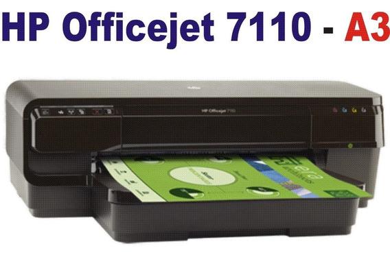 Impressora A3 7110 Com Bulck Instalado Pronta Para Uso