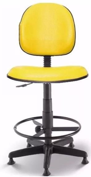 Cadeira Executiva Caixa, Portaria, Balcão, Recepção Amarela