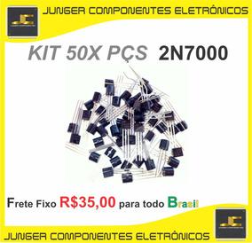 2n7000 - 2n 7-0-0-0 - 2n - 7000 - Kit Com 50x Peças