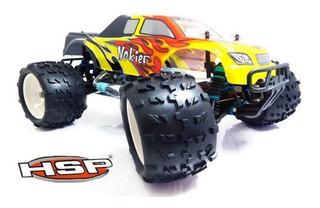 Auto Camioneta Monster Nitro Explosión 4x4 Rc 1/8 Hsp 94083