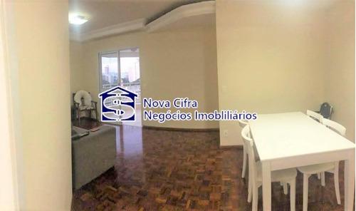 Imagem 1 de 12 de Apartamento 03 Dorms (1 Suíte) Vila Adyana - 95 M² - A3189