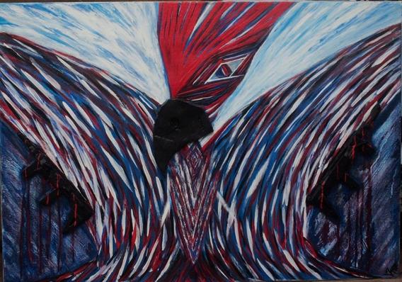 Pintura Temática Abstracta Panamá Libre