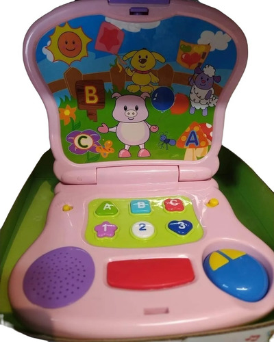 Laptop Pig Interactiva Con Luces Y Sonidos Winfun