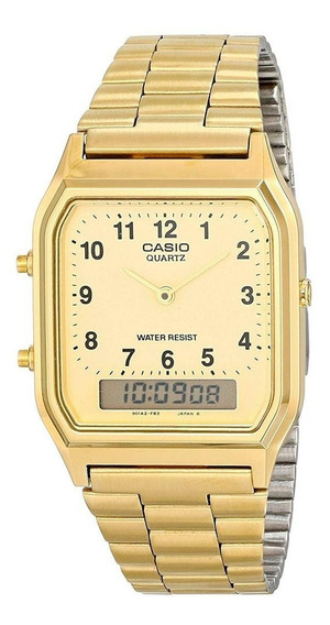 Reloj Casio Vintage Aq-230ga-9bvt Original Ghiberti