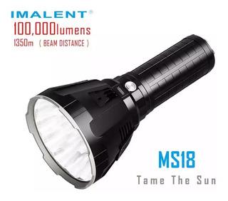 Lanterna Imalent Ms18- 100.000 Lúmens - Apenas Encomenda.